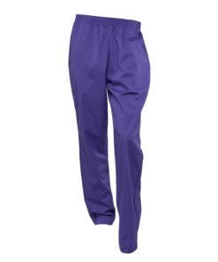 Bukse rette ben 813 - Mørk lilla